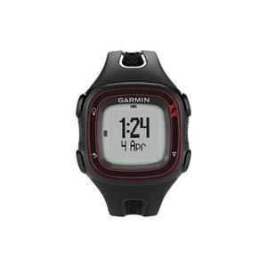Garmin - Forerunner 10 Del Reloj Del Gps - Negro / Rojo