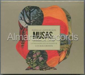 Natalia Lafourcade Musas Vol. 2 Cd - Los Macorinos