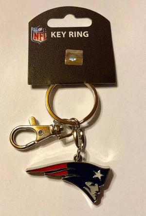 Nfl Llavero De New England Patriots Original Envío Gratis