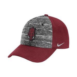 Nike Arkansas Razorbacks Ncaa Gorra Heathered H86 Ajustable