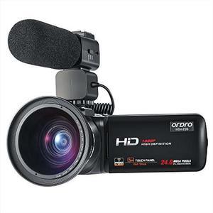 Ordro Videocámara p Completo Hd Vídeo Cámara Con Wifi
