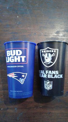 Paquete Vasos Cerveceros Nfl Bud Light 32 Oz.