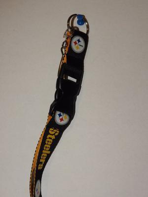 Portagafete Listón Nfl Pittsburgh Steelers
