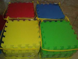 2 Paquetes Tapetes De Fomi cm Total 36 Pz. Envío