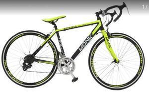 Bicicleta De Ruta Aluminio 700c 14 Veloc Nueva Monk Schnell