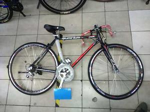Bicicleta De Ruta/carrera Aluminio14 Veloc Nueva Rodada 27