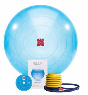 Bosu Pelota De Equilibrio 65 Cm Azul *envio Gratis