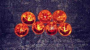 Lote De 7 Esferas Del Dragon Chicas Vegeta Dragon Ball Z