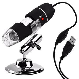 Microscopio x Digital Usb Zoom Optico Iluminación 8 Led