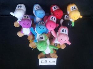 Peluche Yoshi 11.5cm Super Mario Bros.
