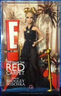 Barbie E! Live Red Carpet Badgley Mischka