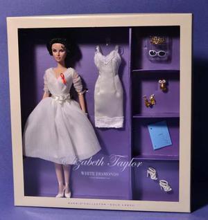 Barbie Elizabeth Taylor White Diamonds Silkstone Nueva