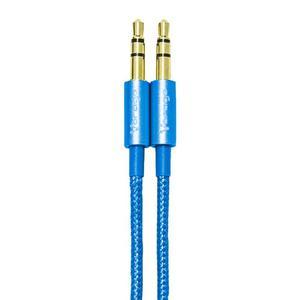 Cable Auxiliar 3.5mm Vorago Alta Resistencia Cab-115 Azul