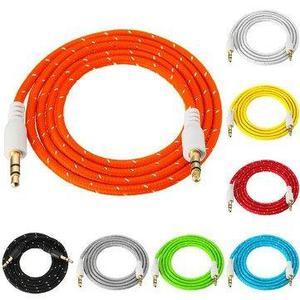 Cable Auxiliar Reforzado 1 Metro Puntas Plásticas