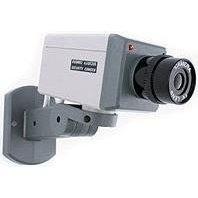 Camara De Seguridad Falsa Detector Movimiento Ee2