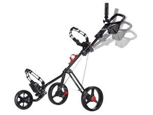 Carrito De Golf Push Cart Caddytek Comodo Para Bolsa Golf