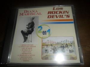 Cd Los Rockin Devils Y Diana Mariscal
