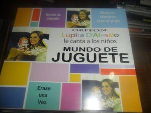 Cd Lupita Dalessio Mundo De Juguete Nuevo