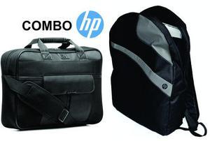Combo Maletin Hp + Mochila Hp Backpack Envío Gratis!