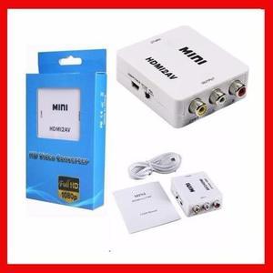 Convertidor Hdmi A Rca Audio Y Video