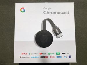 Google Chromecast 2nd Generacion ( Modelo) Black - Nc2-