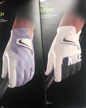 Guante De Golf Nike Tech, Nike Sport Y Nike Tour