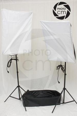 Kit De Iluminacion Para Fotografía Y Video  Watts