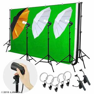 Kit Estudio Fotografico Sombrilla Fotografia