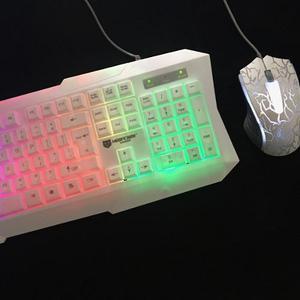 Kit Teclado Mouse Gamer Mt Gaming Alambrico Envio Gratis