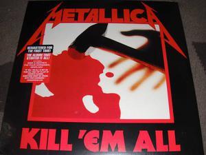 Metallica - Kill 'em All (vinilo, Lp, Vinil, Vinyl)