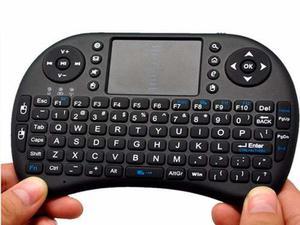 Mini Teclado Inalambrico, Mouse Pad,tv Box Videojuegos Smart