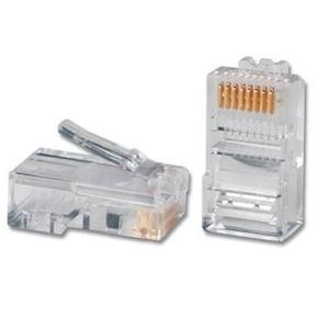 Plug Rj45 Cat  Pz Conector Cable Red Utp Cat6 Gigabit