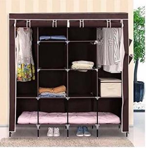 Rack Closet Zapatera Guardarropa Organizador 170x180x45 Cm C