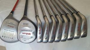 Set De Palos De Golf Wilson Para Caballero