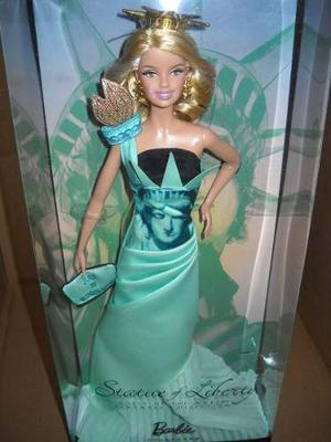 Statue Of Liberty Barbie Doll
