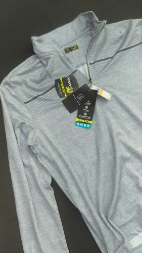 Sueter Golf Pga Chamarra Pull Over Hombre Deporte Tour
