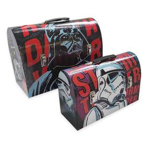 2 Cajas De Herramientas Star Wars Darth Vader & Stormtrooper