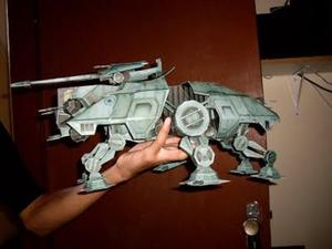 At-te De 35 Cm De Starwars (para Armar En Papel)