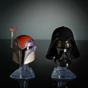 Cascos Star Wars Black Titanium Darth Vader & Sabine Wren *