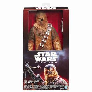 Chewbacca Star Wars The Force Awakens Hasbro Muñeco Deluxe