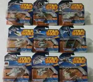 Colección De Naves Star Wars Hot Wheels Nuevos Envío