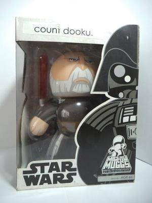 Conde Count Dooku Star Wars Mighty Muggs Hasbro