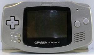 Consola Game Boy Advance Plateada Gba Suelta Retromex Tcvg