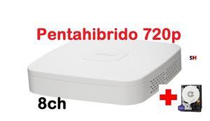 Dvr Dahua 8 Canales Pentahibrido + Disco 1tb Internet Cel