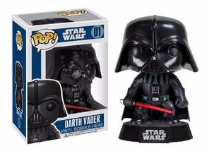 Figura Funko Pop! Darth Vader Star Wars Bobble Head Serie 1