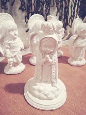 Figura Religiosas De Yeso Lista Para Pintar Santos Virgen