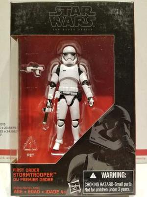 First Order Stormtrooper 3.75 Star Wars Black Series