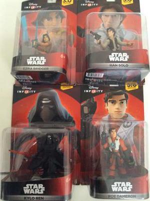 Lote 4 Figuras De Star Wars - Disney Infinity 3.0 Edition