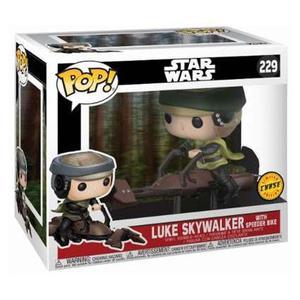 Luke Skywalker With Speederbike Chase Last Jedi Funko Pop