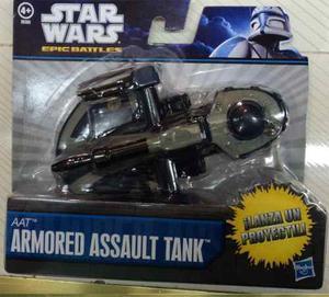 Nave Starwars Lanza Proyectiles Dos Modelos Dif De Hasbro